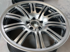 Shadow chrome wheel
